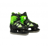 коньки Ice Blade Winner XS / 27-30 черный, зеленый