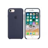 чехол iphone Apple для iPhone 8/7 Silicone Case MQGM2ZM/A, темно-синий