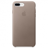 чехол iphone Apple для iPhone 7 Plus/8 Plus Leather Case (MPTC2ZM/A),  taupe