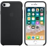 чехол для смартфона Apple для iPhone 8/7 Silicone Case MQGK2ZM/A, черный