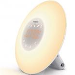 часы интерьерные Philips Wake-Up Light HF3505/70, радиобудильник , со звуками природы и световой имитацией рассвета