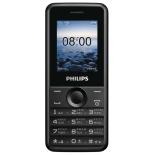сотовый телефон Philips E103, чёрный