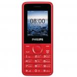 сотовый телефон Philips E103, красный