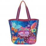 сумка Laurel Burch 550016 Cats With Butterflies (хлопок)