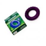 эспандер кистевой массажный (20 кг) 1/25, фиолетовый