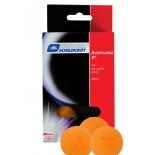 шарики для настольного тенниса Donic Avantgarde-3 (6 штук), оранжевый