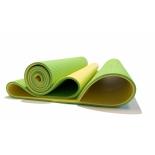коврик для спорта Original Fit.Tools Banana Lime, желтый-зеленый