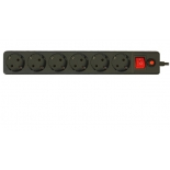 сетевой фильтр CBR CSF 2600-3.0, черный