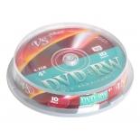 оптический диск DVD+RW VS 4.7 Gb, Cake Box (10 шт)