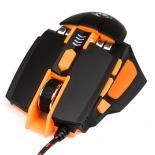 мышь Dialog Gun-Kata MGK-41U USB, черная-оранжевая