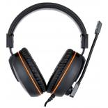 гарнитура для ПК Gembird MHS-G100, черно-оранжевая