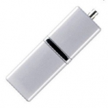 usb-флешка Silicon Power LuxMini 710 16Gb, серебристая
