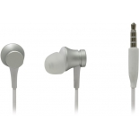 гарнитура проводная для телефона Xiaomi Mi In-Ear Headphones Basic Matte, серебристая