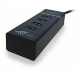 USB-концентратор CBR CH-157 (4 порта), черный