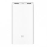 аксессуар для телефона Внешний аккумулятор Xiaomi Mi Power Bank 2 slim 20000 mAh, белый