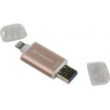 usb-флешка Transcend TS64GJDG300R 64Gb, розовое золото