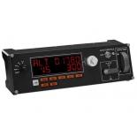 контроллер игровой специальный Logitech G Saitek Pro Flight Multi Panel, чёрный