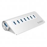 USB-концентратор Orico M3H7-SV, серебристый