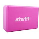 спортивный товар Starfit FA-101 EVA блок для йоги, розовый