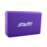 спортивный товар Starfit FA-101 EVA блок для йоги, фиолетовый 1/50