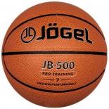 мяч баскетбольный Jogel JB-500 (№7), оранжевый