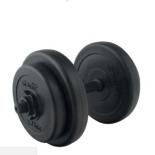 гантель Starfit DB-701 (8 кг), черная