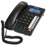 проводной телефон Ritmix RT-470, черный