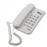 проводной телефон Ritmix RT-320, белый