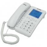 проводной телефон Ritmix RT-490, белый