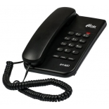 проводной телефон Ritmix RT-320, черный
