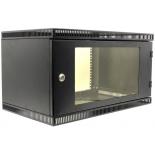 серверный шкаф NT WALLBOX LIGHT 6-63 B 6U (600х350), Черный