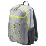 рюкзак городской HP Active Backpack 15.6, серый/неон