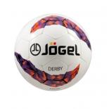 мяч футбольный Jogel JS-500 Derby №3 белый