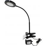 светильник настольный Smartbuy SBL-DLCLIP-8-K, черный
