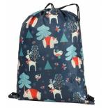 рюкзак спортивный Nosimoe 3115, зимний лес 0071