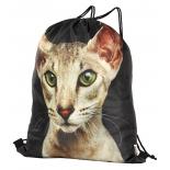 рюкзак спортивный Nosimoe 3115 кот-ориентал