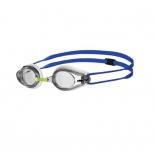 очки плавательные Arena Tracks  белый-прозрачный-синий