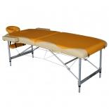 стол массажный DFC Nirvana Elegant Premium, оранжево-бежевый