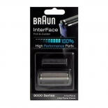 аксессуар для электробритвы Сетка и режущий блок Braun 3000 Interface