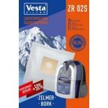 фильтр для пылесоса ZR 02 S Комплект пылесборников, (4шт+2фильтра Vesta filter)