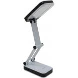 светильник настольный Smartbuy SBL-JUMP-4-WL-BLACK, черно-белый