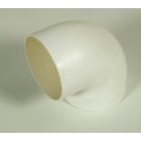 сантехнический аксессуар Колено 90, диам.75мм (1021-01)
