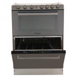 плита Candy Trio 9503/1 X (со встроенной посудомоечной машиной), серебристая