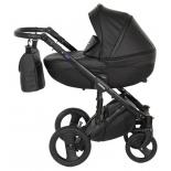 коляска Verdi Mirage Eco Premium (3 в 1) 01, чёрная