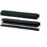 аксессуар компьютерный органайзер кабельный Hyperline CM-2U-PL-COV (19