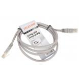 кабель / переходник Telecom UTP 5е (1.5м), Серый