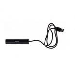 USB-концентратор Buro BU-HUB4-0.5R-U2.0, черный