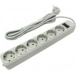 сетевой фильтр ExeGate SP-900/SP-6-3W, белый
