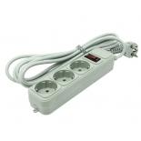 сетевой фильтр ExeGate SP-3-3G, серый