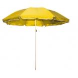 зонт садовый Торг-Хаус, (d 240 см) желтый